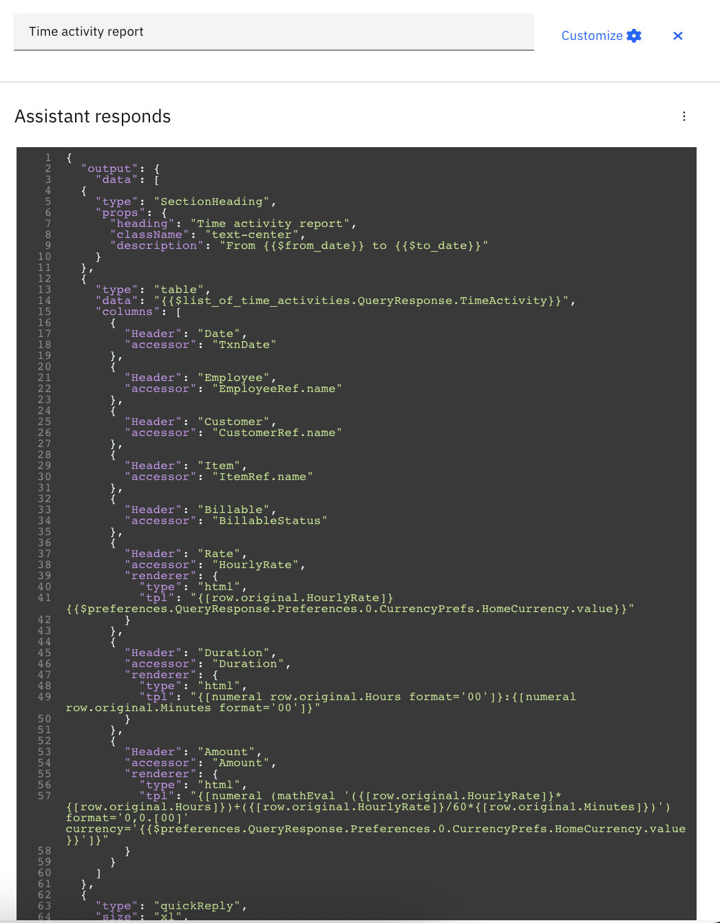 IBM Watson Assistant Skills Development