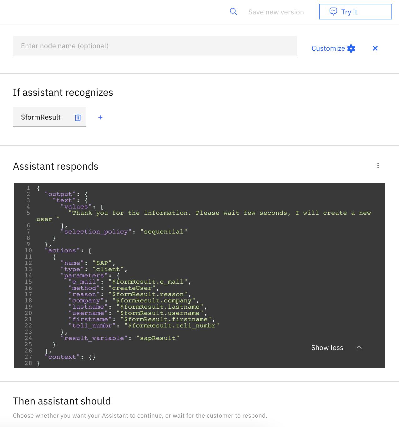 IBM Watson Assistant integration capabilities